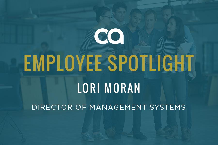 Employee Spotlight: Lori Moran Keeps Things Organized