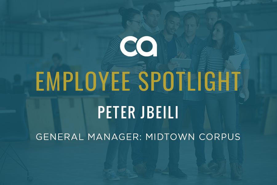 EMPLOYEE SPOTLIGHT: PETER JBEILI IS HAVING THE TIME OF HIS LIFE