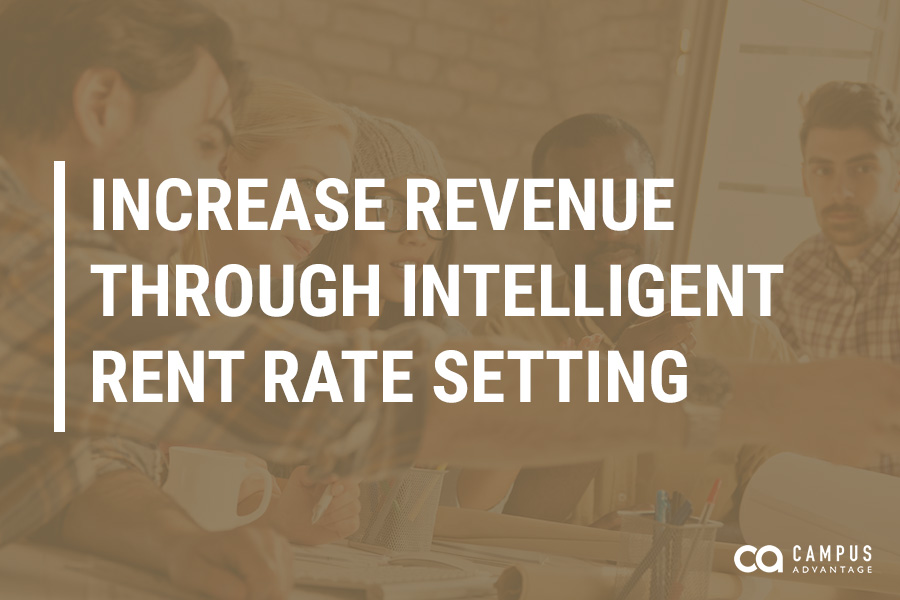 Increase Revenue Through Intelligent Rent Rate Setting
