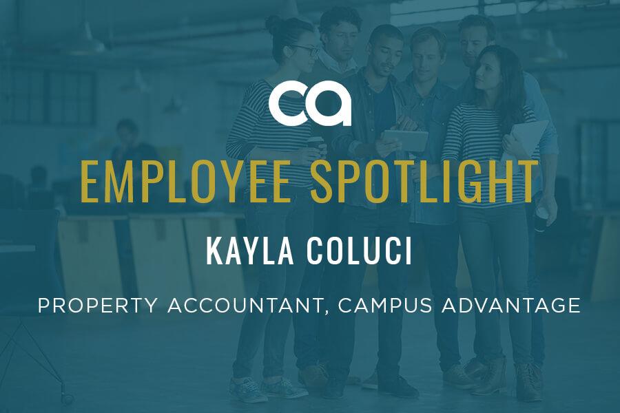 Employee Spotlight: Kayla Coluci: The Fun Accountant