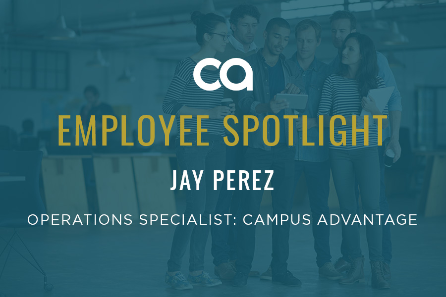 Employee Spotlight: Jay Perez Keeps Things Ship Shape While Saying Hakuna Matata