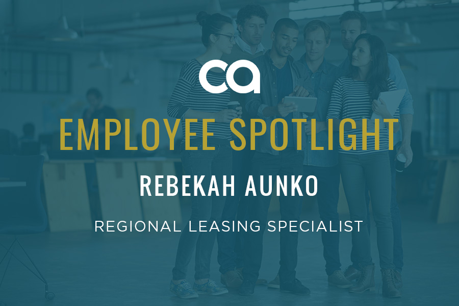 EMPLOYEE SPOTLIGHT: REBEKAH AUNKO IS THE ULTIMATE TEAM PLAYER