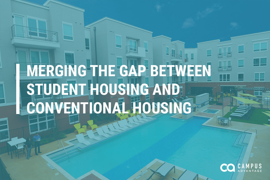Merging the Gap Between Student Housing and Conventional Housing