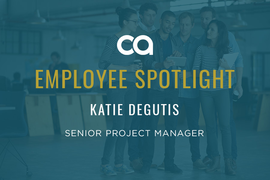 EMPLOYEE SPOTLIGHT: KATIE DEGUTIS HAS IT UNDER CONTROL