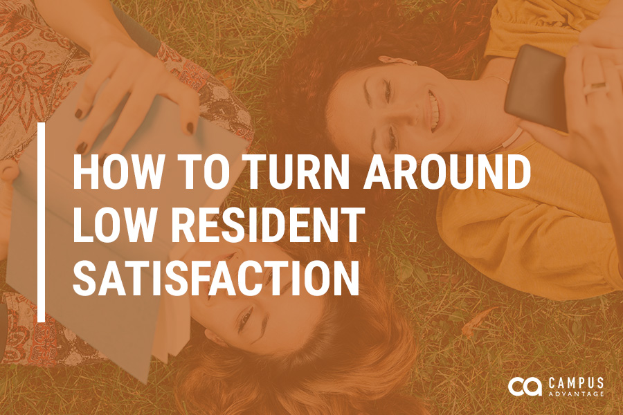 HOW TO TURN AROUND LOW RESIDENT SATISFACTION
