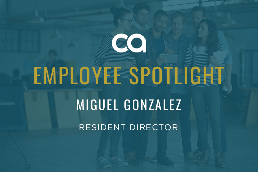 Employee Spotlight: Miguel Gonzalez & His High-Fiving, Caramel Coffee-Loving Energy