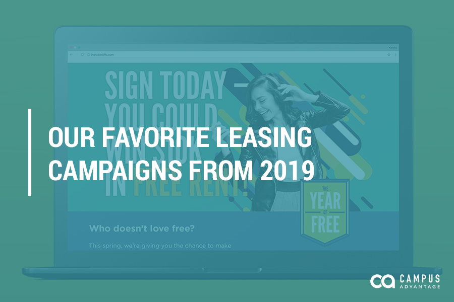 Our Favorite Leasing Campaigns from 2019