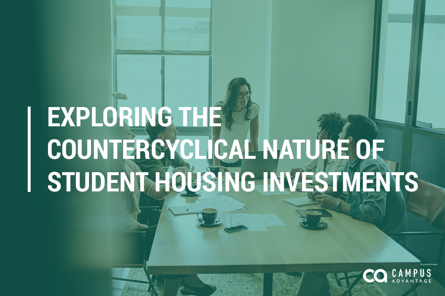 Exploring the Countercyclical Nature of Student Housing Investments