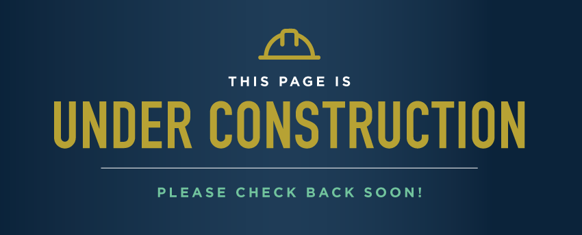 Under construction popup